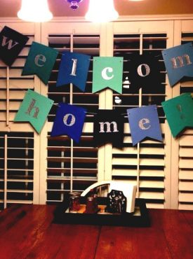 Welcome Home Party Decorations
