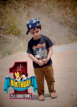 First Birthdays For Boys.